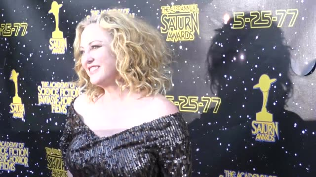 virginia madsen at the 43rd annual saturn awards on june 28 2017 in burbank california - virginia madsen stock videos & royalty-free footage
