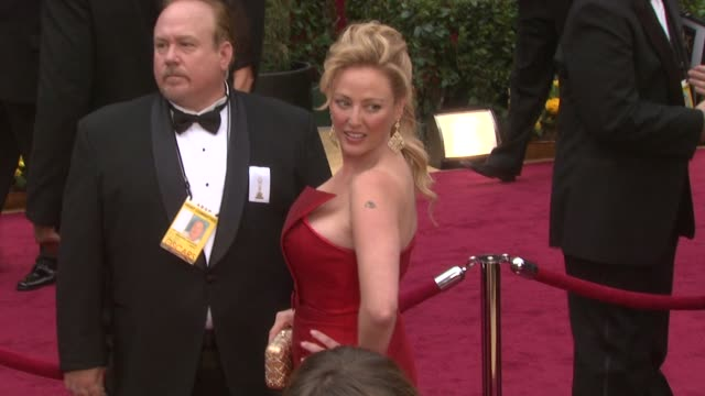 virginia madsen at the 81st academy awards arrivals part 4 at los angeles ca - virginia madsen stock videos & royalty-free footage