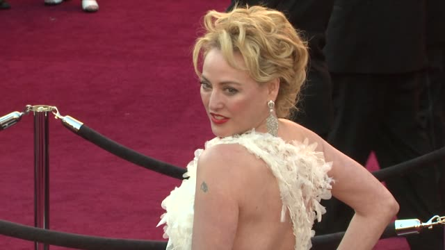 virginia madsen at the 83rd annual academy awards arrivals at hollywood ca - virginia madsen stock videos & royalty-free footage