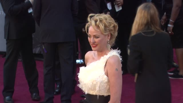 virginia madsen at the 83rd annual academy awards arrivals part 2 at hollywood ca - virginia madsen stock videos & royalty-free footage