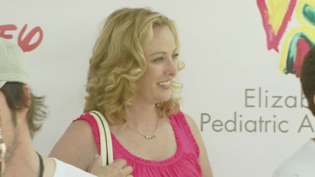virginia madsen at the a time for heroes carnival @ the wadsworth theatre at los angeles california. - virginia madsen stock videos & royalty-free footage