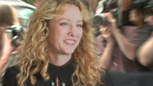 virginia madsen at the 'evening' new york premiere at chelsea 23 cinemas in new york, new york on june 11, 2007. - virginia madsen stock videos & royalty-free footage