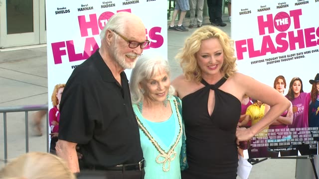 virginia madsen at the hot flashes los angeles premiere on 6/27/2013 in hollywood, ca. - virginia madsen stock videos & royalty-free footage