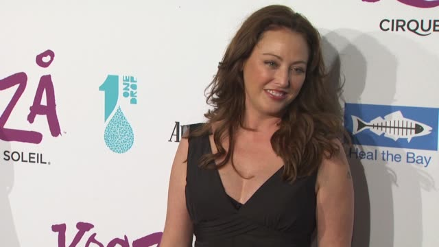 virginia madsen at the kooza opening night gala to benefit the one drop foundation heal the bay at santa monica ca - virginia madsen stock videos & royalty-free footage
