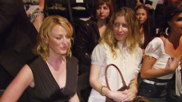 virginia madsen at the mercedes-benz fall 2007 fashion week bebe at smashbox studios in culver city, california on march 18, 2007. - virginia madsen stock videos & royalty-free footage