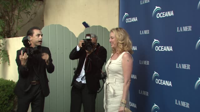 virginia madsen at the oceana la mer celebrates world oceans day at los angeles ca - virginia madsen stock videos & royalty-free footage