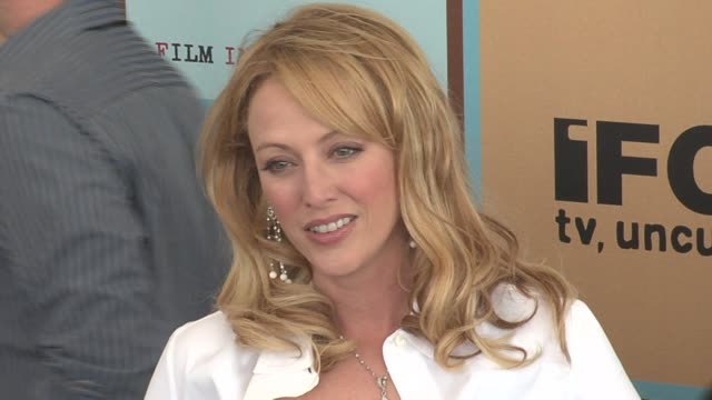virginia madsen at the the 21st annual ifp independent spirit awards in santa monica california on march 4 2006 - virginia madsen stock videos & royalty-free footage