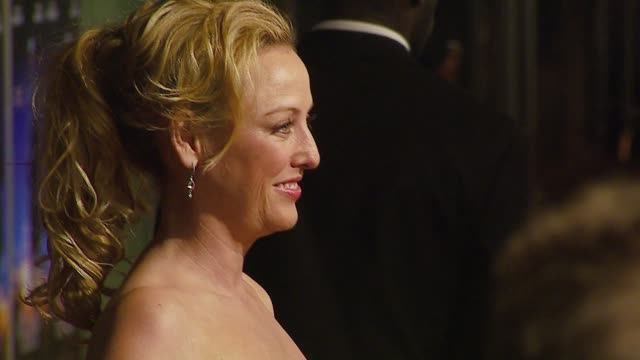virginia madsen at the 'the astronaut farmer' premiere at the cinerama dome at arclight cinemas in hollywood california on february 20 2007 - virginia madsen stock videos & royalty-free footage