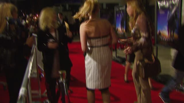 virginia madsen at the 'the astronaut farmer' premiere at the cinerama dome at arclight cinemas in hollywood california on february 20 2007 - the astronaut farmer stock videos and b-roll footage