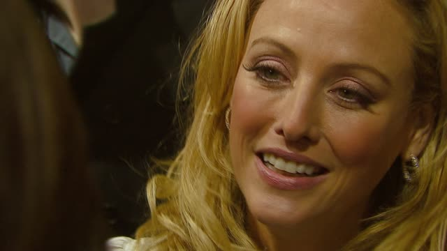 virginia madsen at the 'the number 23' premiere at the orpheum in los angeles california on february 13 2007 - virginia madsen stock videos & royalty-free footage