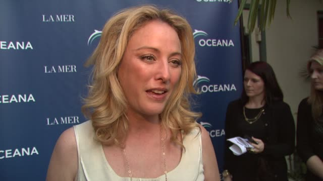 virginia madsen on being a part of the night why protecting the oceans is so important why she is supporting oceana how people can help save the... - virginia madsen stock videos & royalty-free footage