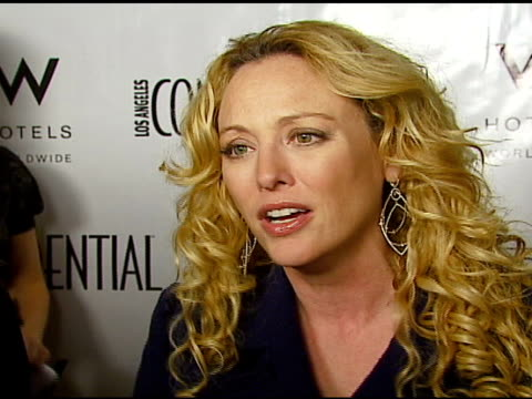 virginia madsen on being able to just have fun during awards season on penelope on having fun getting dressed up for events and parties at the la... - virginia madsen stock videos & royalty-free footage