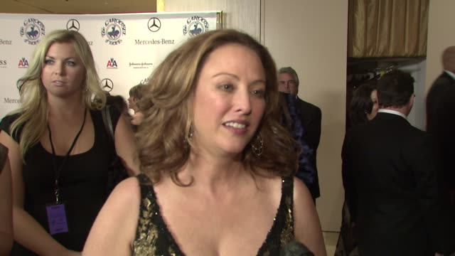virginia madsen on the event, denzel and pauletta washington being honored at the 30th anniversary carousel of hope ball presented by mercedes-benz... - virginia madsen stock videos & royalty-free footage