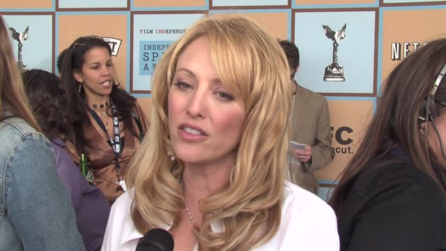 virginia madsen on what constitutes independent films these days and on the role sideways played in showing the impact small films can have on the... - ifp independent spirit awards stock videos and b-roll footage