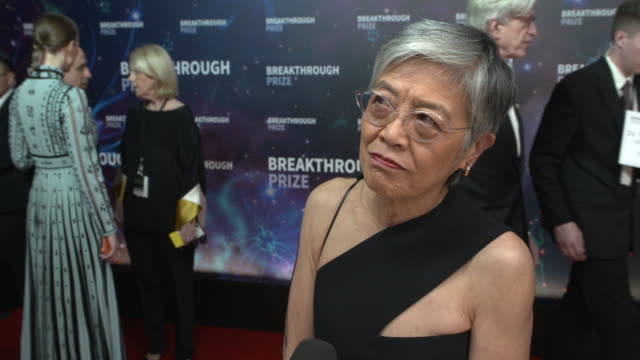interview virginia manyee lee on the breakthrough prize why it's important on her award and what she accomplished and on inspiring young people and... - success stock videos & royalty-free footage