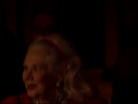 virginia mayo at the thalians 46th annual ball at century plaza in century city california on october 13 2001 - thalians annual ball stock videos & royalty-free footage