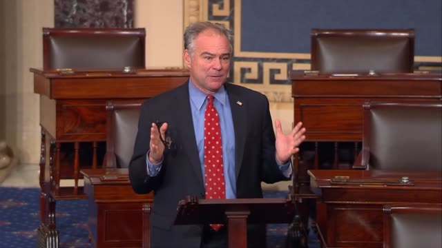 Virginia Senator Tim Kaine that what scares him about pulling out together with defining the State Department importing cold water on diplomacy is...