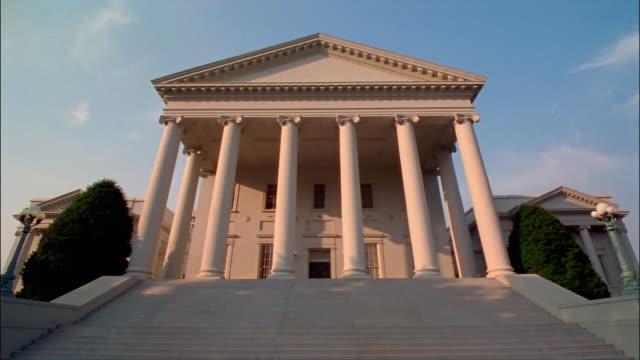 ms, la, virginia state capitol, richmond, virginia, usa - 18th century style stock videos & royalty-free footage