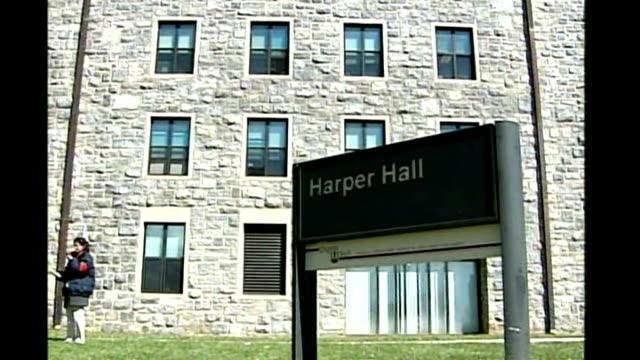 details emerge about gunman Cho SeungHui USA Virginia Blacksburg Virginia Tech University EXT General views Harper Hall