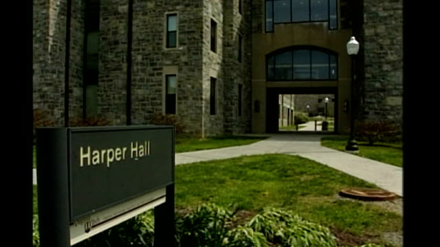 details emerge about gunman Cho SeungHui EXT *** music overlaid on following shots Collective Soul 'Shine' SOT General views around Harper Hall on...