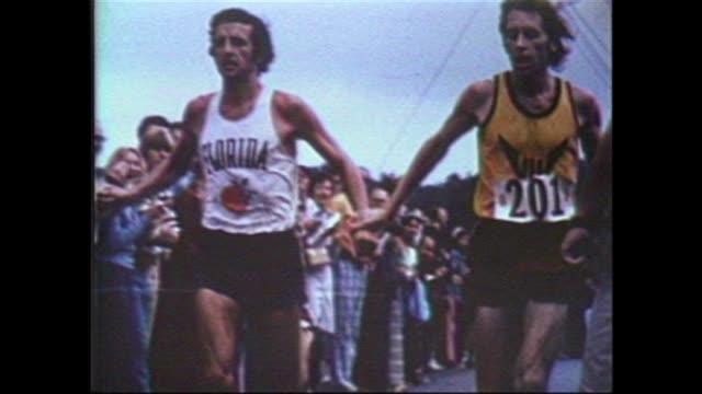 Virginia Ten Mile Race Bill Rodgers vs Olympic Champion Frank Shorter a classic finish