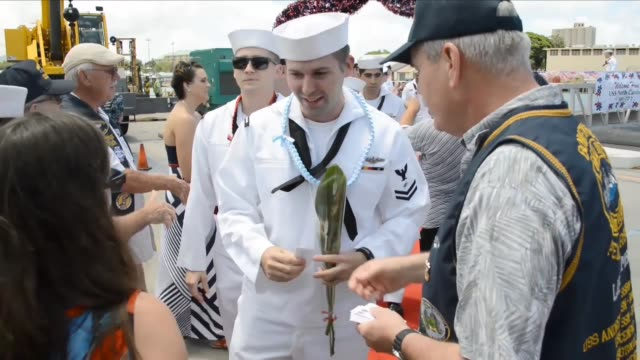Virginiaclass fast attack submarine USS North Carolina returns to Joint Base Pearl HarborHickam from a Western Pacific deployment