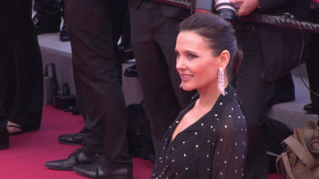 virginie ledoyen at blackkklansmann red carpet arrivals the 71st cannes film festival at grand theatre lumiere on may 14 2018 in cannes france - 71st international cannes film festival stock videos & royalty-free footage