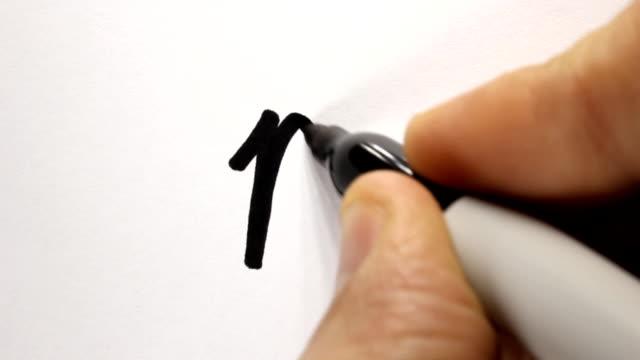 vídeos de stock e filmes b-roll de virgem - caneta de feltro