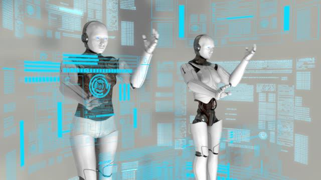 vídeos y material grabado en eventos de stock de ciborg virtual - ciborg