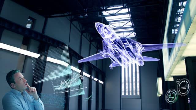 virtual fighter jet designer - interactivity stock videos & royalty-free footage