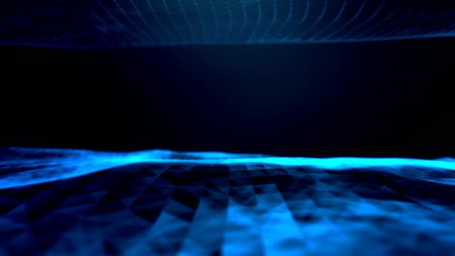 virtual reality, big data background - visual aid stock videos & royalty-free footage