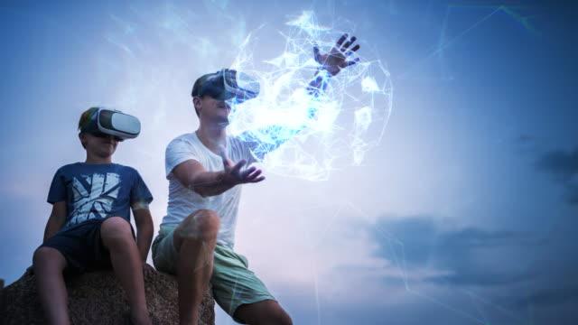 virtual reality experience - eyesight stock videos & royalty-free footage