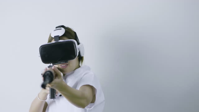 Virtual reality glasses at home