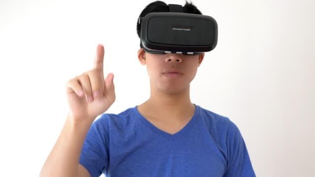Virtual reality headet