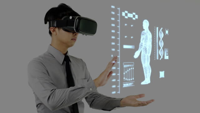Virtual reality headset for diagnose