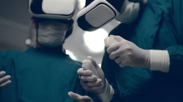 virtual reality simulator - health technology stock videos & royalty-free footage