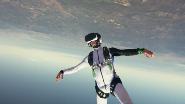 Virtual Reality Skydiving - Skydiving with VR Headset
