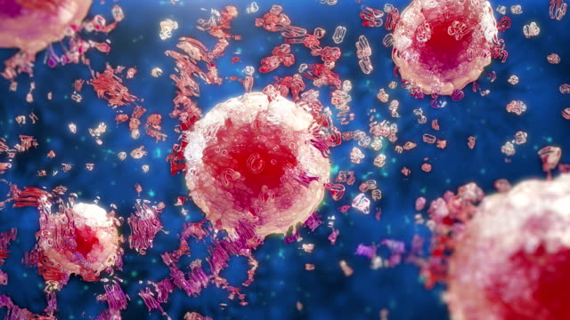 virus cells - virus organism stock videos & royalty-free footage