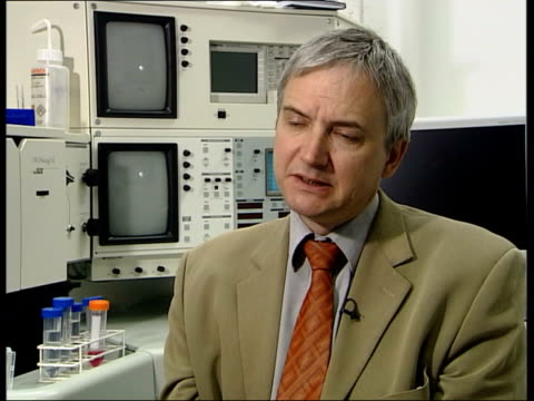 china outbreak/quarantine calls; itn england: london: professor peter openshaw interviewed sot - discusses need for quarantine - severe acute respiratory syndrome stock videos & royalty-free footage