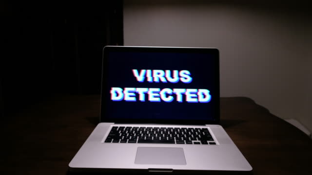 Virus Detected In Laptop