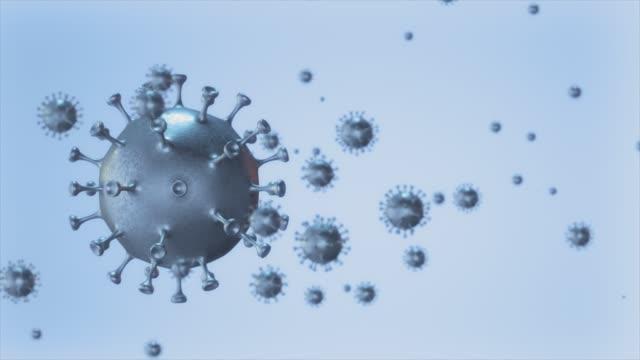 viruses seamless loop. stock video - disease vector stock videos & royalty-free footage