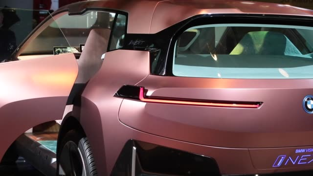 vision inext cafe concept is seen during the mobile world congress 2019 in barcelona spain on february 27 2019 the presence of devices prepared to... - bmw stock videos & royalty-free footage