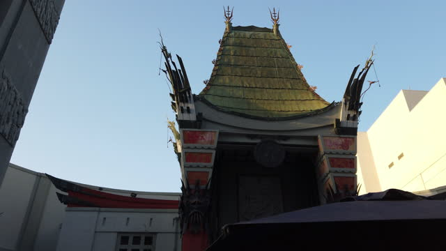 visit the hollywood boulevard - tcl chinese theatre stock videos & royalty-free footage
