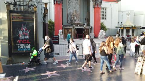 vídeos y material grabado en eventos de stock de visit the hollywood boulevard - paseo de la fama