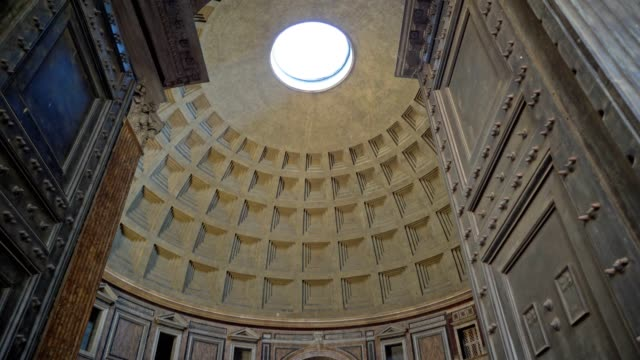 visiting pantheon rome - rome italy stock videos & royalty-free footage