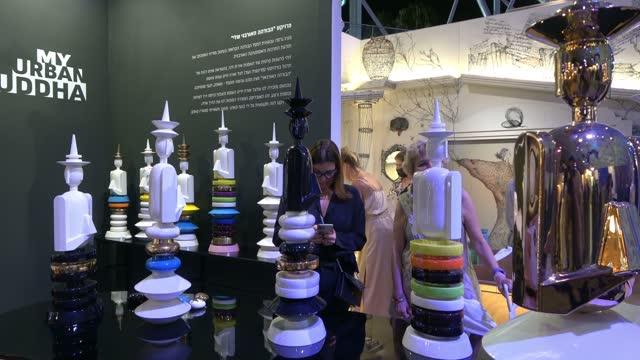 ISR: Largest Art Fair In Israel Begins In Tel Aviv