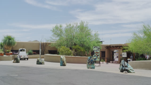 Visitors Center at Saguaro National Park