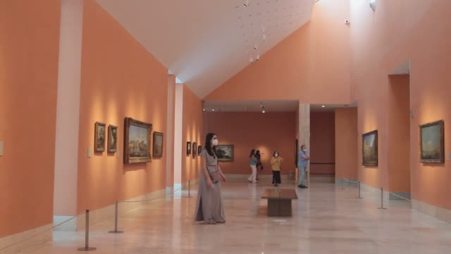 ESP: Thyssen Museum Reopens In Madrid