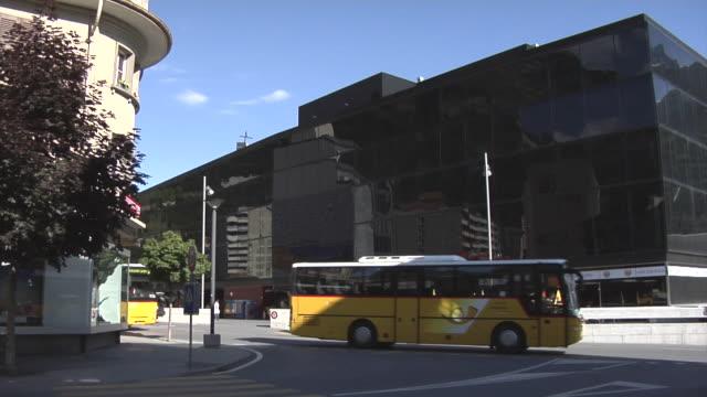 visp railway station - railway junction stock videos & royalty-free footage