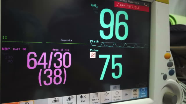 vital sign monitor - pulse oxymeter stock videos and b-roll footage